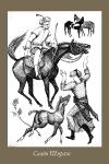 Елена Федорович. Иллюстрация к произведениям Саади Ширази.